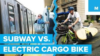 Electric Cargo Bike vs. NYC Subway: Ultimate Showdown | Mashable