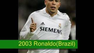 Best football players of the history(1928-2010)