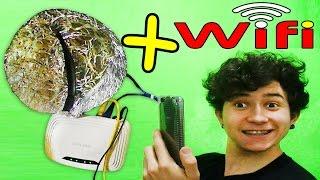 Como fazer um amplificador WIFI caseiro (com papel . . .