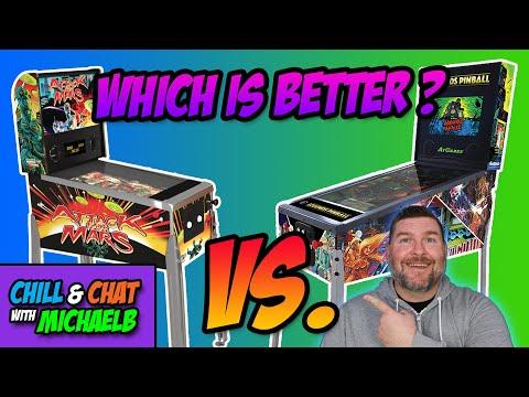 Arcade 1Up Pinball Vs. AtGames Legends Pinball from MichaelBtheGameGenie