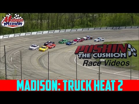 5/7/2017 Madison International Speedway: Truck Heat 2