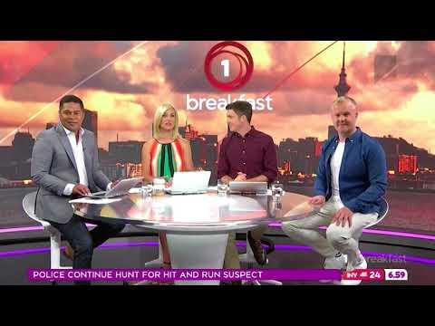 TVNZ: 1 News Breakfast Montage - [22nd January 2018]