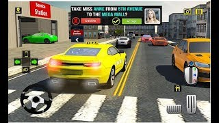 Rush Hour Taxi Cab Driver / NY Taxi Games / Android Gameplay FHD