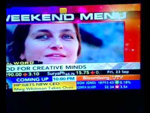 Tanya Basu on Bloomberg UTV