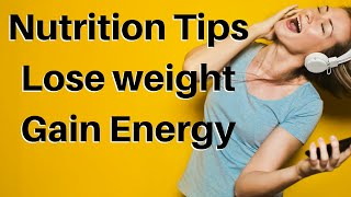 In this free video sara grafenauer, accredited practicing dietitian discusses her top 20 food and lifestyle tips to help everyone manage their weight better....