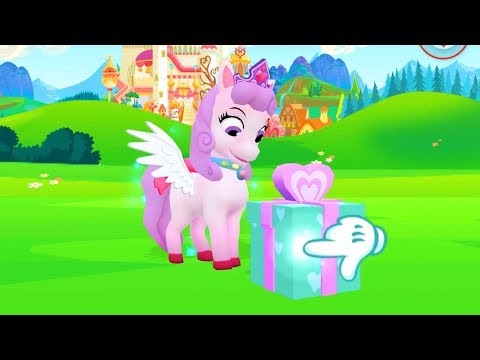 New Unlocked Bloom Aurora Cute Pony's Pet - Disney Princess Palace Pets 2 Whisker Haven Kids Game