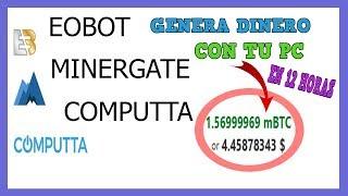 EOBOT VS MINERGATE VS COMPUTTA | CONTRATOS DE PODER DE MINADO A 5 AÑOS??