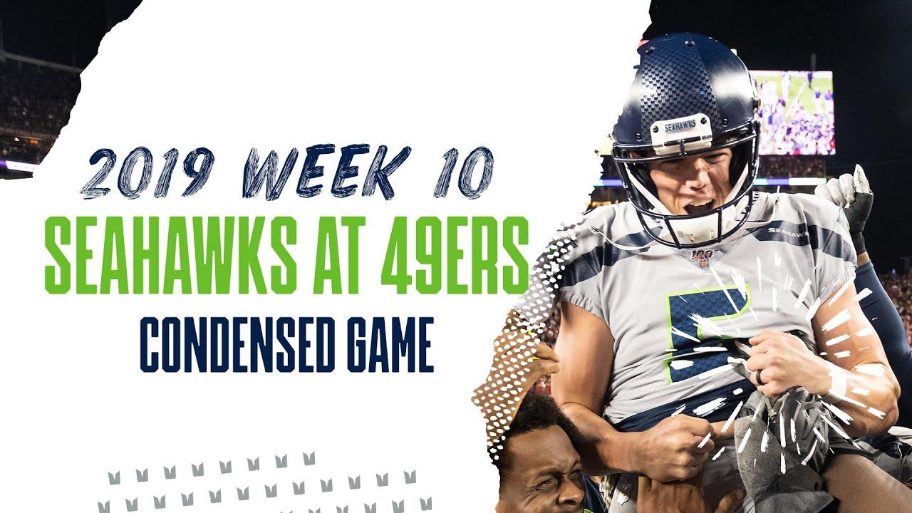 2019 Week 10: Seahawks at 49ers   Condensed Game