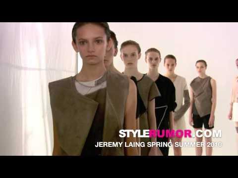 Jeremy Laing Spring Summer 2010 Collection Stylerumor.com
