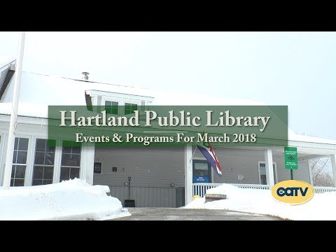 Hartland Library-March 2018 Update