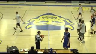Special Olympics basketball Media vs Henry Clay staff January 31, 2016