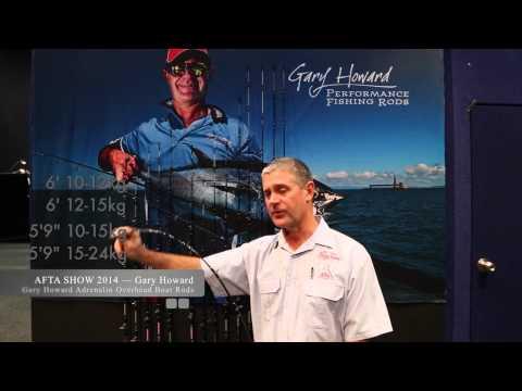 Gary Howard Adrenalin Overhead Boat Rods — 4 Models