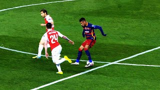 When Neymar Played For FC Barcelona..