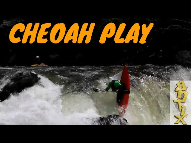 Jackson Kayak Antix Cheoah River Downriver Playday
