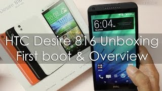 HTC Desire 816G Review Videos