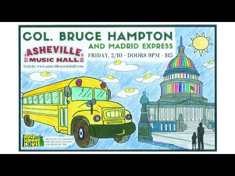 Col. Bruce Hampton & Madrid Express @ Asheville Music Hall 2-10-2017