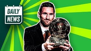 Messi gewinnt den Ballon d'Or! BVB: Haaland statt Mandzukic!
