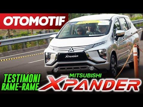 Kemeriahan World Premiere Mitsubishi Xpander, Test Drive dan Testimoni Di GIIAS 2017