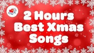 Gambar cover 2 Hours of Best Christmas Songs Playlist  Merry Christmas Music