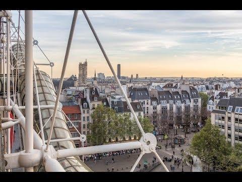Centre Pompidou, Paris, Modern Art Museum