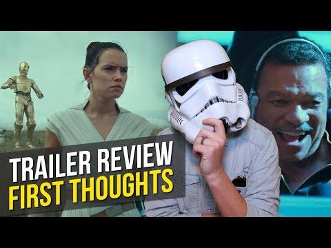 Star Wars: Episode IX - The Rise of Skywalker - TRAILER REVIEW & REACTION