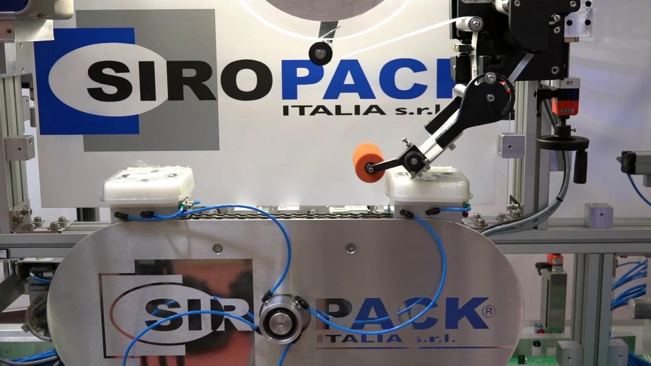 Siropack sr08 macchina per applicazione di carta - Macchina per decorare carta ...