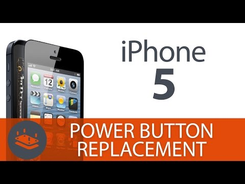 How To: Replace the iPhone 5 Power Button