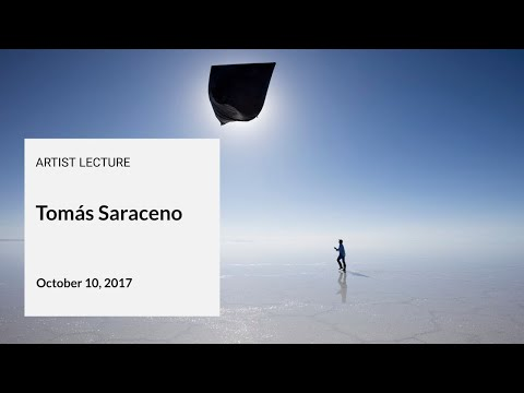 Tomás Saraceno at Columbia University School of the Arts
