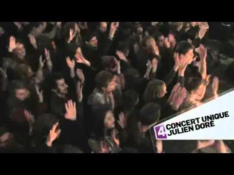 Concert unique Julien Doré le 31 décembre à 23h20 sur France 4