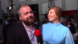Annabelle: Creation Red Carpet Interview With David F. Sandberg