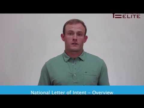 National Letter of Intent   Overview