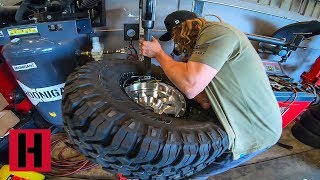 Blake Wilkey Mounts Massive 35in Shred Boots!