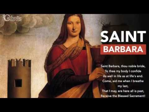 Who is Saint Barbara? Find out in 60 Seconds