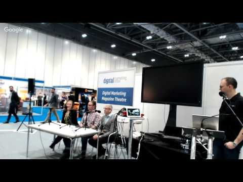 TWIO Live at the Digital Marketing Show in Excel, London - November 2015