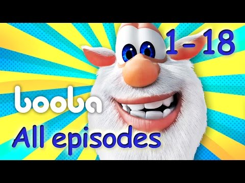 Booba - All Episodes Compilation (18-1) Funny cartoon for kids 2017 Буба   KEDOO Animations 4 kids