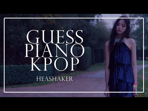 GUESS K-POP SONG BY PIANO VERSION