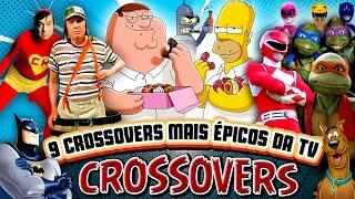 9 Momentos mais ÉPICOS da televisão - Crossovers