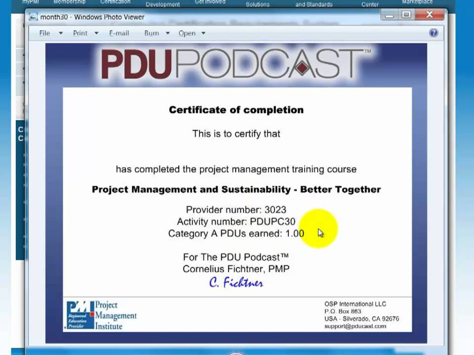 Ask Cornelius How Do I Claim Pdus From Pmi Youtube