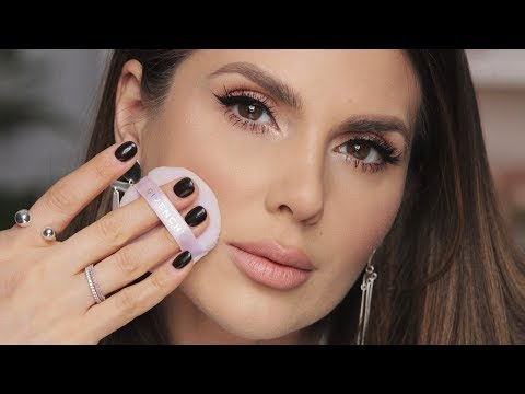 OILY SKIN & LARGE PORES? HERE'S HOW TO DO YOUR MAKEUP | ALI ANDREEA
