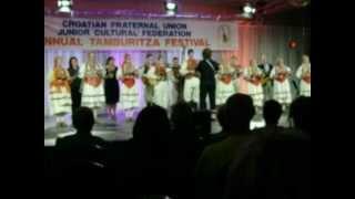 The Milwaukee Croatian Tamburitzans perform at 46TH CFU JUNIOR TAMBURITZA FESTIVAL