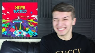 J-Hope - Hope World Mixtape Reaction / Review [BASE LINE IS A BOP]