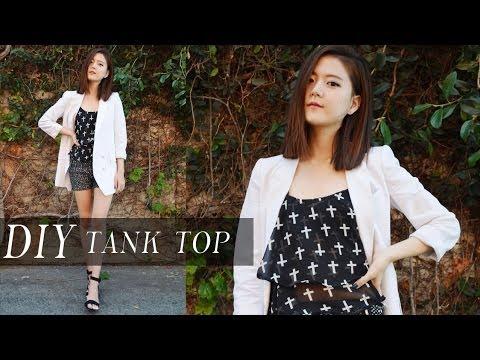 DIY Tank Top / Camisole