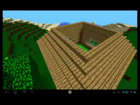 Comment faire une belle maison minecraft pe fr youtube - Comment faire une tres belle maison minecraft ...