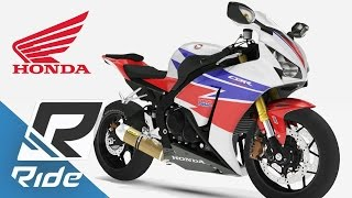 RIDE (PS4): Honda CBR1000RR Fireblade + QuickShifter + Escape