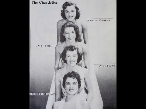 Lollipop ~ The Chordettes (1958)