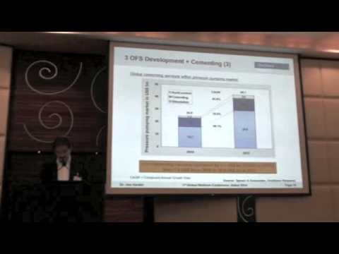 Market trends in oil well cement - Global Well Cem Conference 2014