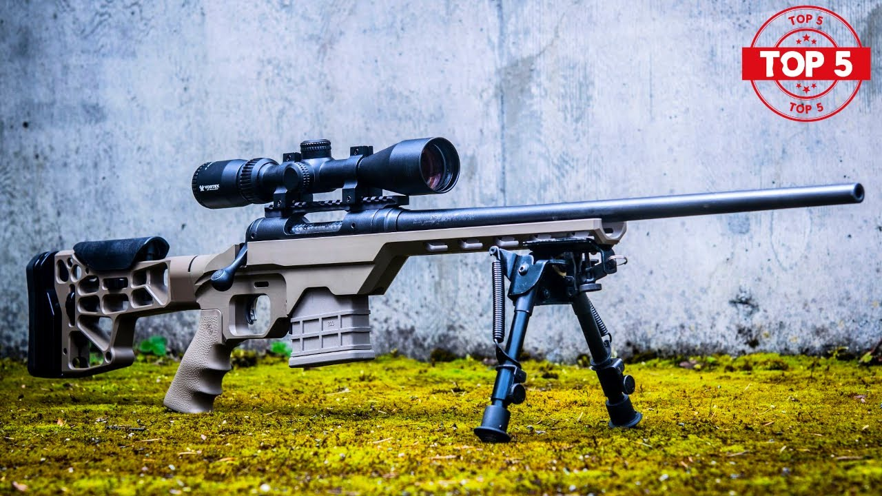 TOP 5 BEST RIFLES FOR HUNTING BIG GAME