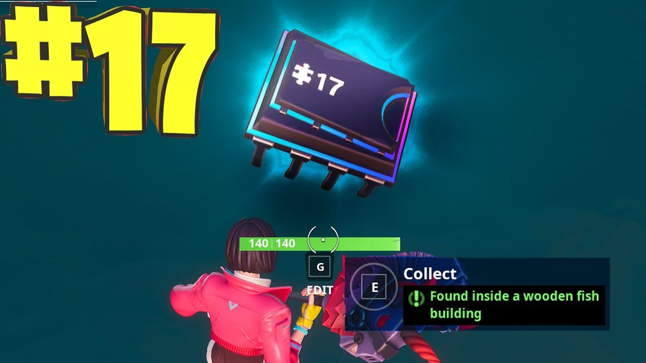 Fortbyte 17 Location Found Inside A Wooden Fish Building Pro Game