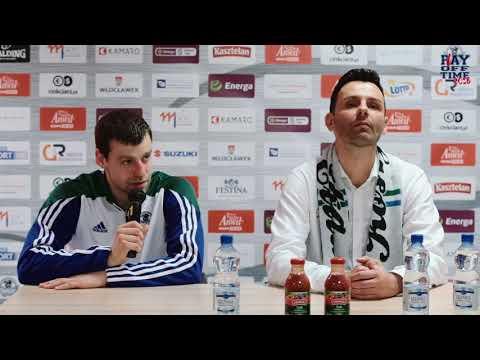 Anwil Włocławek – Stelmet Enea BC Zielona Góra 85:83 | konferencja prasowa