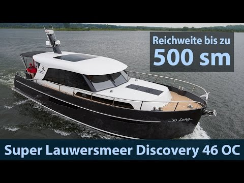 Super Lauwersmeer Discovery 46 OC | Test | Fahrbericht